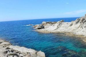 半島の美しい海