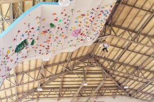 登りきって満足